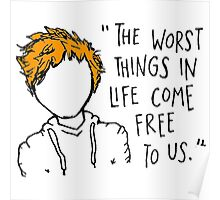 Ed Sheeran Quote Poster