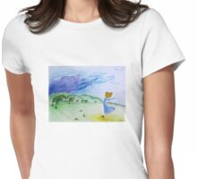Cold wind Womens Fitted T-Shirt