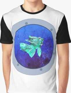 Looking Through the Porthole Graphic T-Shirt
