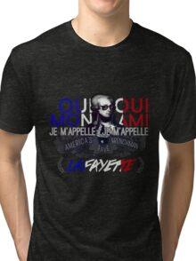 Lafayette: America's Fave. Tri-blend T-Shirt