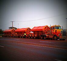 Keep on Truckin by Phyxius