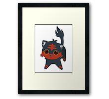 Chibi Litten Framed Print