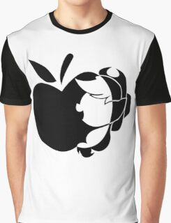 Apple With Pony Graphic T-Shirt