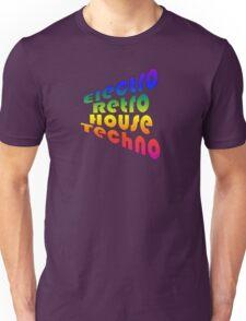 Electro Retro House Techno Unisex T-Shirt