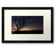 Emerald Sunset #1 Framed Print