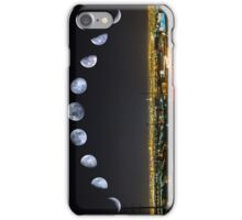 Phases of the Moon Panorama over Las Vegas iPhone Case/Skin