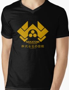 NAKATOMI HARD Mens V-Neck T-Shirt
