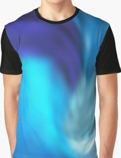 psychedelic blue Graphic T-Shirt
