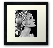 Carey Mulligan - Daisy from The Great Gatsby Framed Print