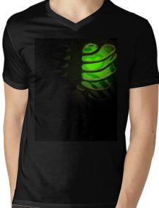 Your Soul - Green - Kindness Mens V-Neck T-Shirt