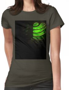 Your Soul - Green - Kindness Womens Fitted T-Shirt
