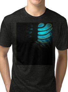 Your Soul - Light Blue - Patience Tri-blend T-Shirt