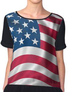 USA | UNITED STATES FLAG Chiffon Top