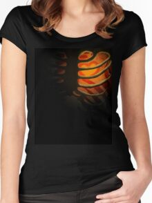 Your Soul - Orange - Bravery Women's Fitted Scoop T-Shirt