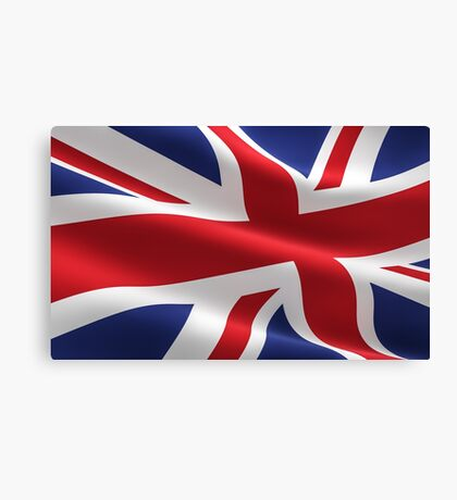 UK | UNITED KINGDOM FLAG Canvas Print