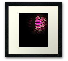 Your Soul - Pink Framed Print