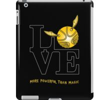 More Powerful than Magic  iPad Case/Skin