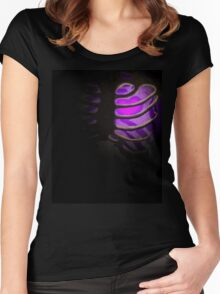 Your Soul - Purple - Perseverance Women's Fitted Scoop T-Shirt