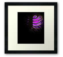 Your Soul - Purple - Perseverance Framed Print