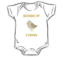 HATCHED BY 2 CHICKS One Piece - Short Sleeve