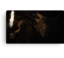 A Throne for Dragons Canvas Print