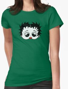 Betty Womens Fitted T-Shirt
