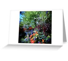 Magic Garden Greeting Card