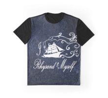 I Ship Rhysand and Myself Graphic T-Shirt