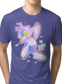 Shiny Porygon Z Tri-blend T-Shirt