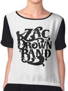 Zac Brown Band Chiffon Top