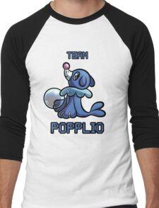 Team Popplio Men's Baseball ¾ T-Shirt