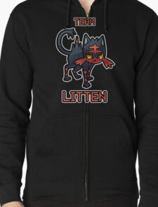 Team Litten Zipped Hoodie