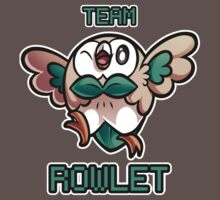 Team Rowlet One Piece - Short Sleeve