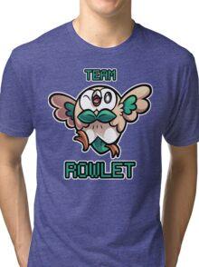 Team Rowlet Tri-blend T-Shirt