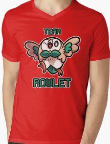 Team Rowlet Mens V-Neck T-Shirt