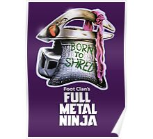 Full Metal Ninja Villain Poster
