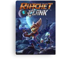 rachet clank the movie Canvas Print