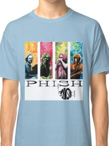 phish band concert white 2016 rizki Classic T-Shirt