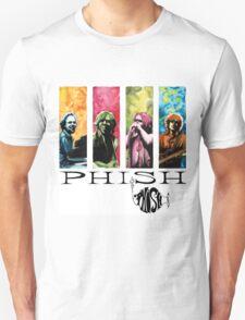 phish band concert white 2016 rizki Unisex T-Shirt