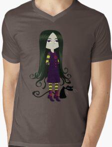 Baby Witch Mens V-Neck T-Shirt