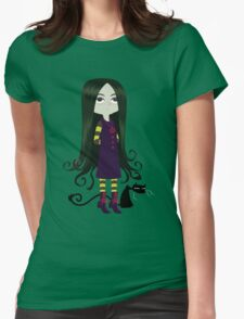Baby Witch Womens Fitted T-Shirt