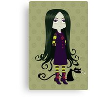 Baby Witch Canvas Print