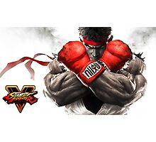 ryu street fighter v nakula Photographic Print