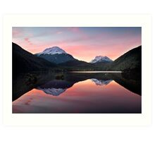 Lake Sylvan Art Print