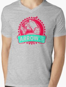An Arrow In The Knee Mens V-Neck T-Shirt