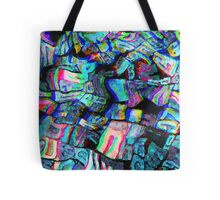 Twisted Text And Colors Tote Bag
