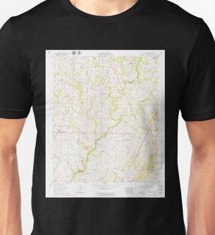 USGS TOPO Map Alabama AL Holly Pond 304187 1958 24000 Unisex T-Shirt