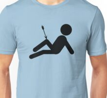 Arrow To The Knee Video Gaming Unisex T-Shirt
