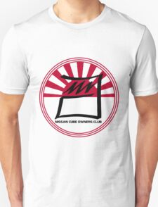Nissan Cube Owners Club - Circle  Unisex T-Shirt