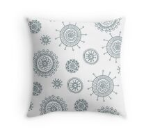 Cute simple doodle pattern Throw Pillow